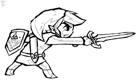 the legend of zelda coloring pages az coloring pages