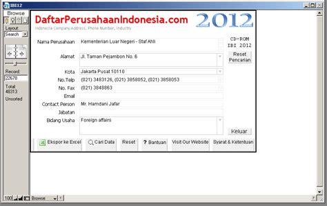 cara membuat alamat email perusahaan gratis database email perusahaan database perusahaan indonesia