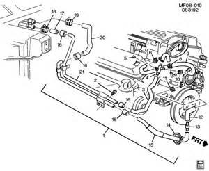1994 chevrolet camaro hoses amp pipes heater