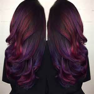 black with purple colour in their hair 25 best ideas about long purple hair on pinterest crazy