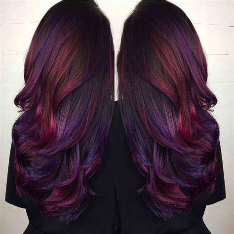 hair colours 25 best ideas about long purple hair on pinterest crazy