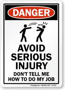 don t tell me how to do my job humorous sign low prices