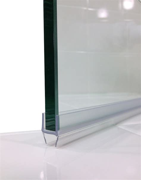 Frameless Glass Shower Door Sweep Seamless Glass Door Shower Door Bottom Seals