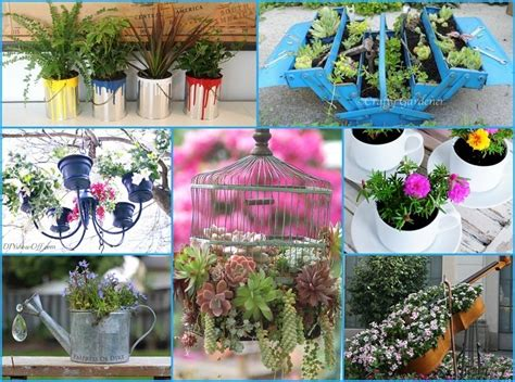 Unique Container Gardening Ideas 40 Unique Container Garden Ideas