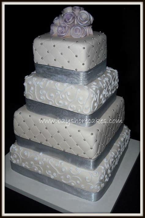 Hochzeitstorte 4 Eckig by 4 Tier Square Wedding Cake Cakecentral