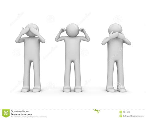 Is 2d Blind Blind Deaf And Dumb Stock Photos Image 13119293