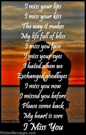 Missing you poems for him quotes lol rofl com