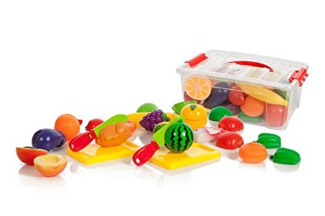Iq Baby Baby Food Container 35 cutting food play set fruits vegetables 2