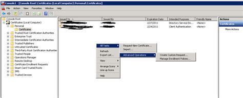 tutorial enable ldap over ssl ldaps on windows 2008