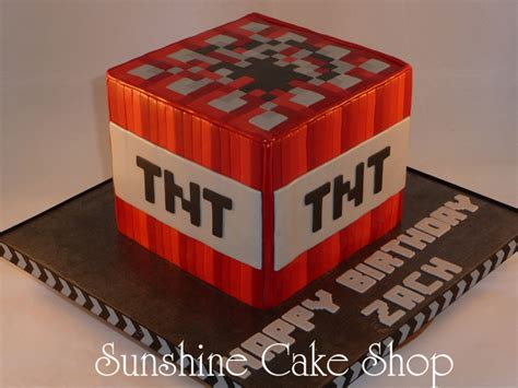 Decorating Valentine Boxes Minecraft Tnt Cube Cakecentral Com