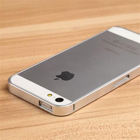Fashion Bumper Iphone 66s Silver plasma bumper silver iphone 5 5s plasma