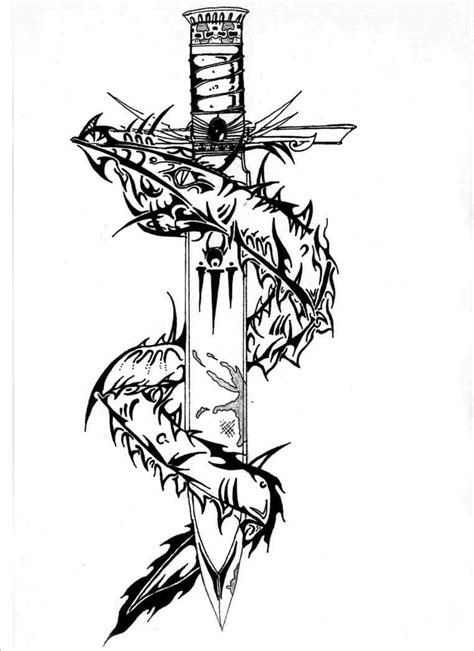 tribal sword tattoo tribal serpent and sword designs 187 ideas