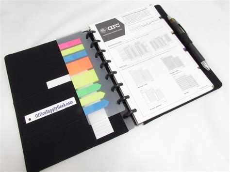 Binder Notebook M staples arc customizable notebook with neoprene cover review