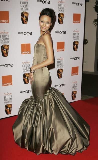 Most Consistent On The Carpet In 2007 Thandie Newton by Bafta Fug Carpet Thandie Newton Go Fug Yourself