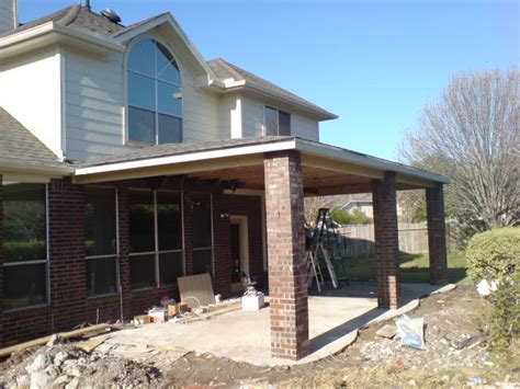 covered patio 13 x29 cost houston construction home repair and improvement haif