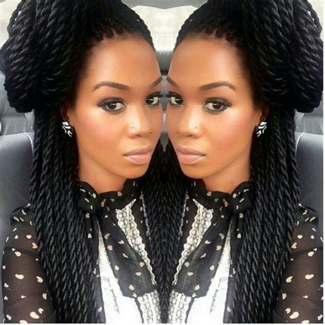 nice braids with kinky senegalese twists good spin on the box braid hair