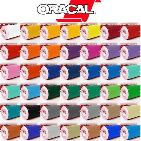 Oracal Folie Plotten 1m oracal 621 glanz 631 matt dekofolie m 246 belfolie