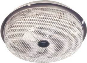 bathroom heating fan ceiling heaters broan