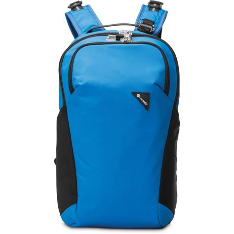 Pacsafe Vibe pacsafe vibe 20 anti theft 20l backpack blue 60291600 b h