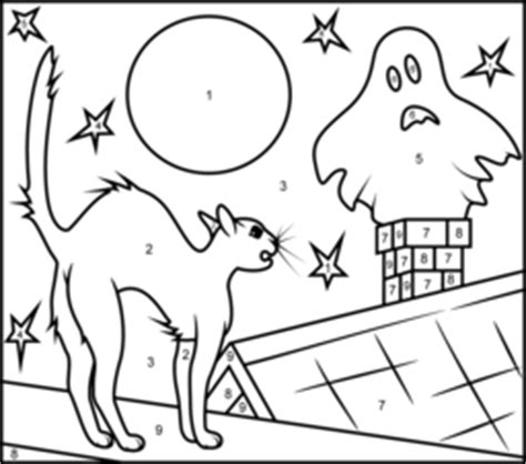 halloween coloring pages numbers halloween cat coloring page printables apps for kids