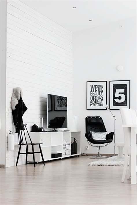 Black And White Home Interior by Black And White Home Decor Ideas