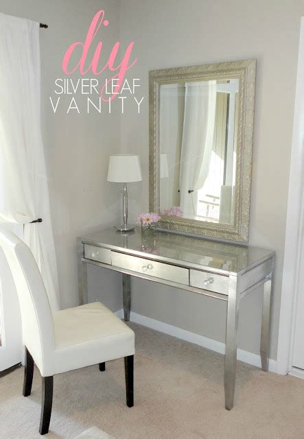 12 Pretty Feminine Diy Dressing Tables And Vanities Diy Vanity Table
