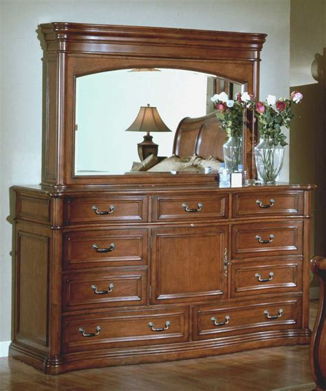 Hutch Dresser by Signature Home Washington Dresser With Hideaway Mirror Tv