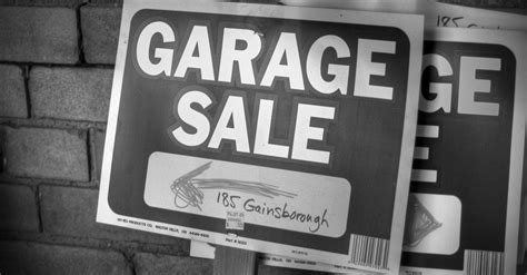 the 7 most worthless things at your garage sale