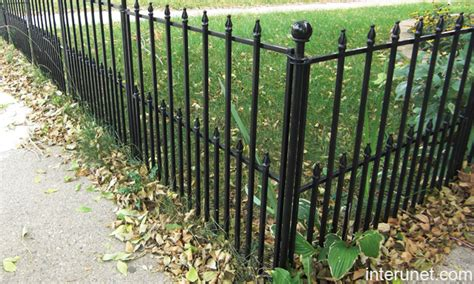 Decorative Metal Fence by Low Decorative Fence Picture Interunet