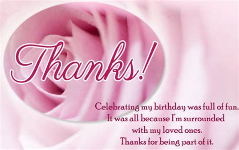 Happy Birthday Thanks Wishes Thanks For Your Birthday Wishes Thank You Messages For