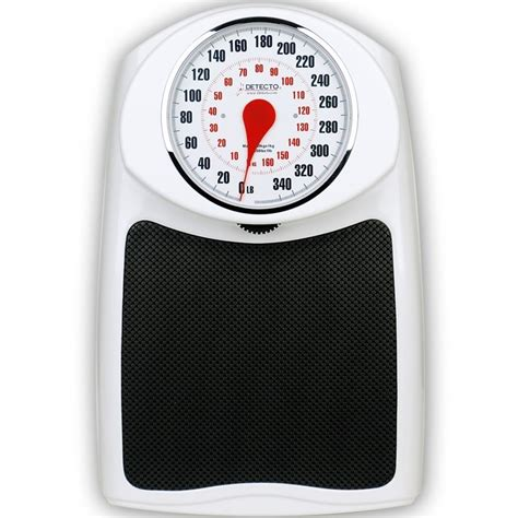dial bathroom scale detecto prohealth dial bathroom scale