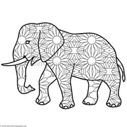elephant coloring pages 10 getcoloringpages org