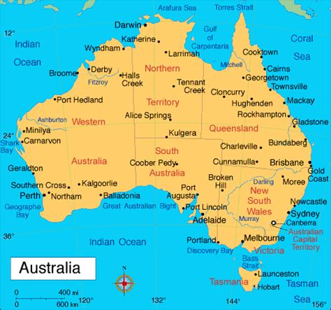 states in australia map australia map states and territories of australia travel