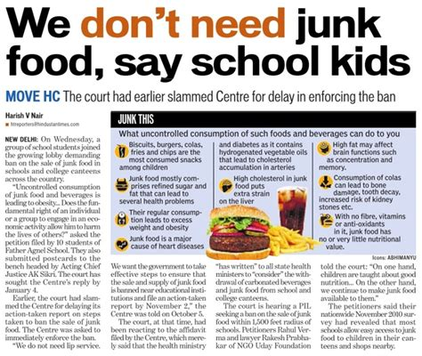Junk Food In Schools Argumentative Essay by Junk Foods Should Be Banned In Scho
