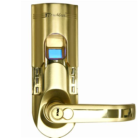 itouchless itouchless bio matic fingerprint deadbolt door
