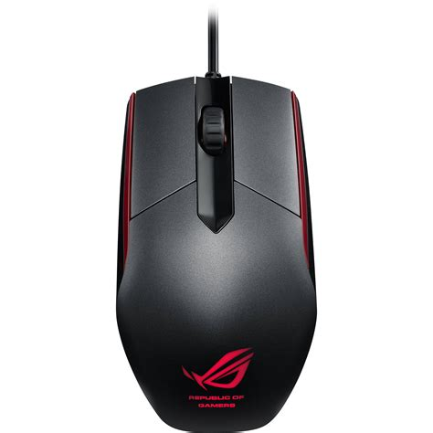 Mouse Gaming Asus Rog asus republic of gamers sica mouse steel gray rog sica b h