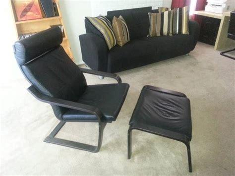 ikea leather chair and ottoman ikea poang chair craigslist nazarm com