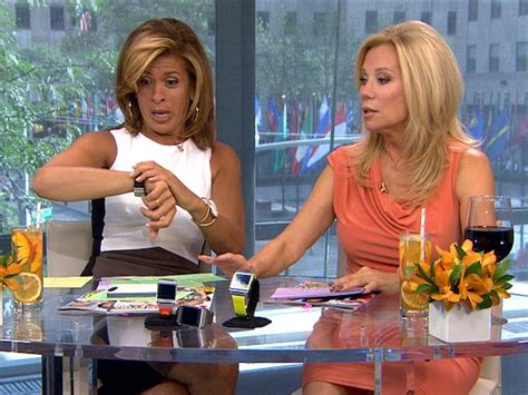 Today Show Wardrobe by Hoda Accidentally Shows America Cell Number
