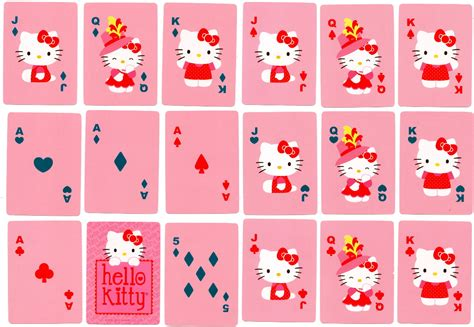 Hello Kitty Gift Card - hello kitty the world of playing cards