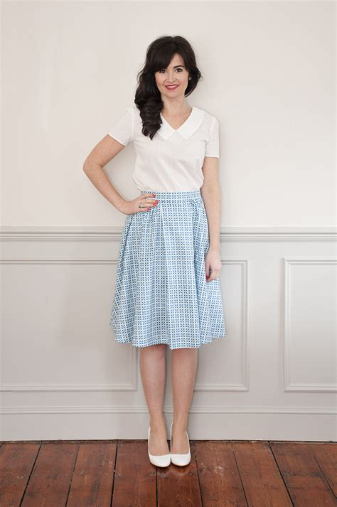 pattern house kent skirt sew over it rosie dress sewing pattern sew over it