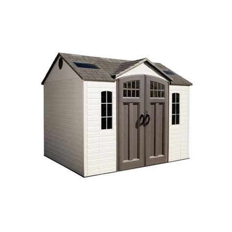 Lifetime Outdoor Storage Shed Lifetime 10 X 8 Garden Storage Shed 60095