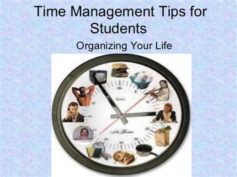 Time Management For Mba Students by Time Management Tips For Students