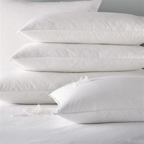 and feather pillow buy belfield duck feather pillows by liddell