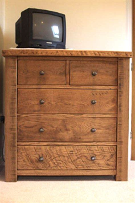 chunky oak bedroom furniture chunky rustic oak chest of drawers custom made by incite
