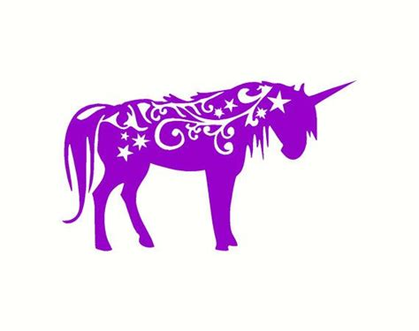 Horse Wall Mural unicorn decal vinyl wall decal cute home by
