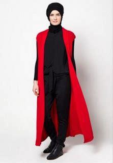 Kimono Blazer Cardigan Rajut 25 style rompi dan cardigan busana muslim remaja terkini