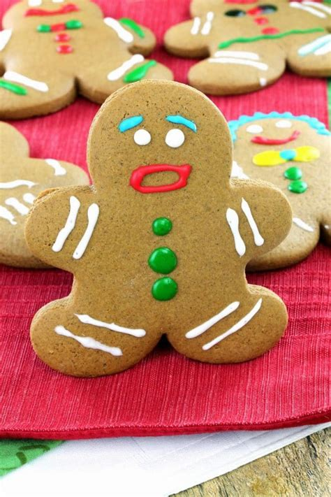 fashioned gingerbread men cookies