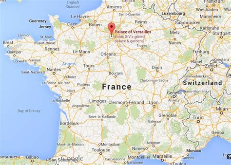 Versailles Floor Plan by Map Of France Versailles 187 Travel