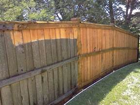 Staining A Patio Power Washing Fences
