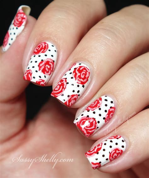 Pin Up Nail Designs